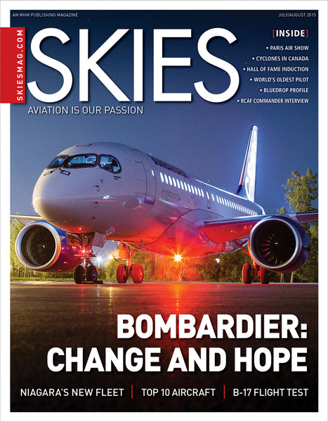 Skies - July/August 2015 (CSV5I4)