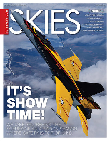 Skies - May/June 2016 (CSV6I3)