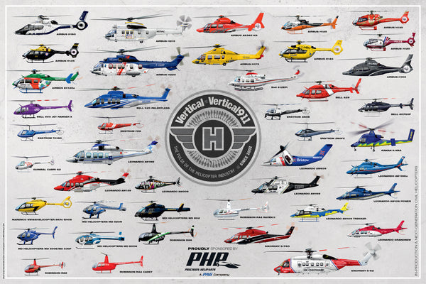 Vertical's 2017 Civil Helicopter Fleet Poster