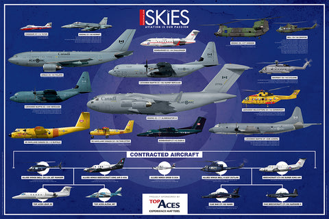 ***NEW*** 2018 Royal Canadian Air Force Fleet Poster