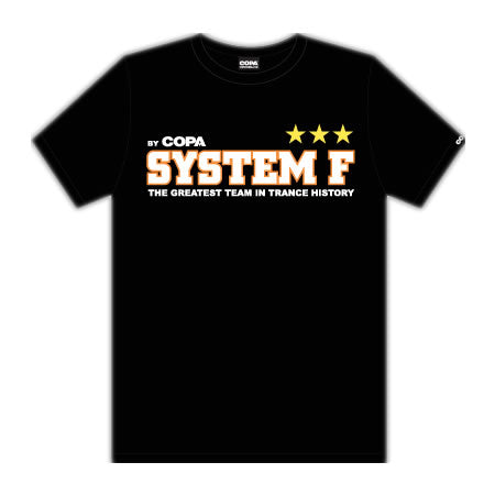 System F Greatest Team T-shirt Black Men