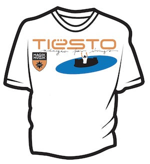 Tiësto Adagio For Strings T-shirt