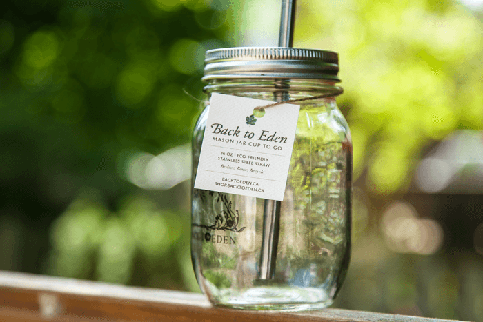 Integrity - Mason Jar Cup To Go