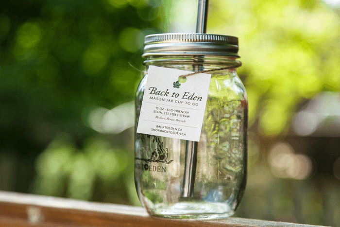 Centered - Mason Jar Cup To Go