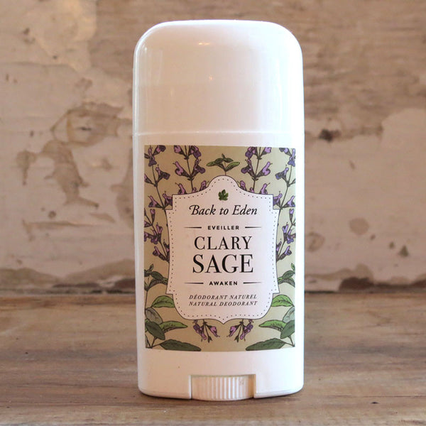 Clary Sage Natural Deodorant