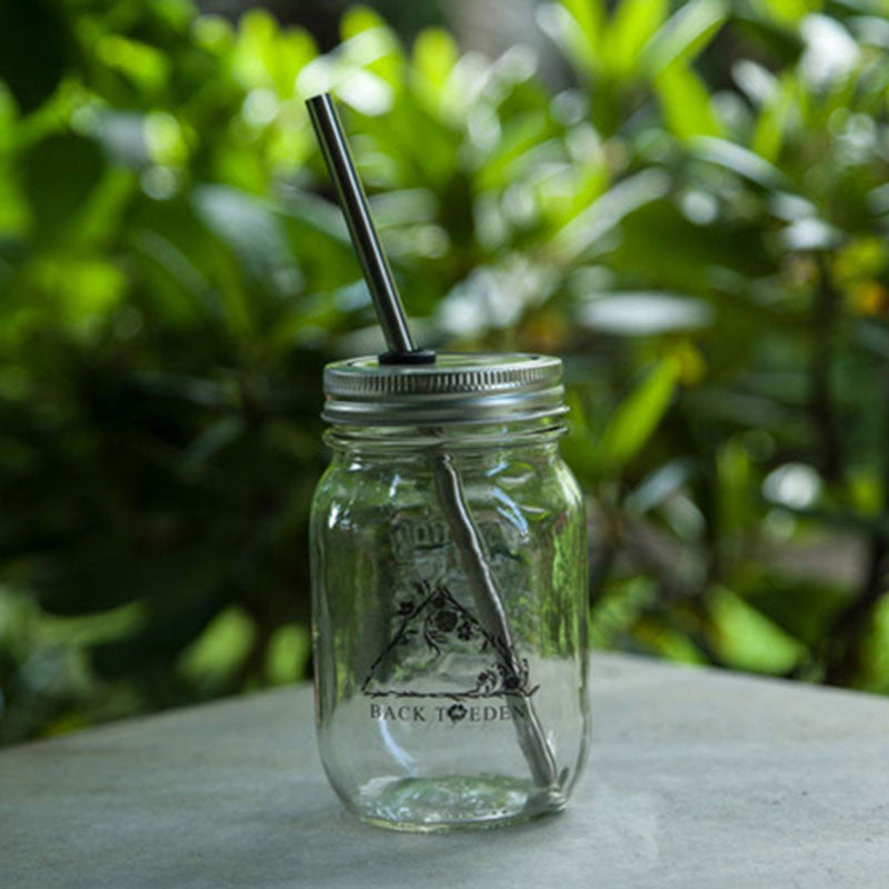 Eden- Mason Jar Cup To Go