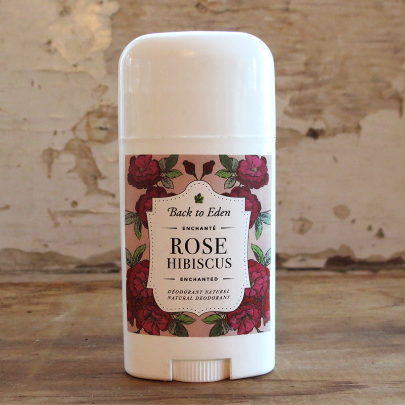 Rose Hibiscus Natural Deodorant