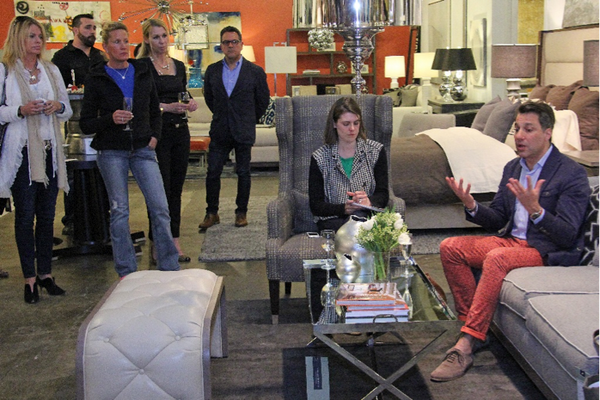 Kristan Zimmer, editor at Serendipity interviews Thom Filicia.