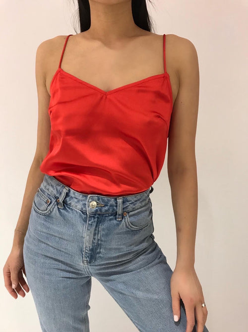 Lexi top - Rood