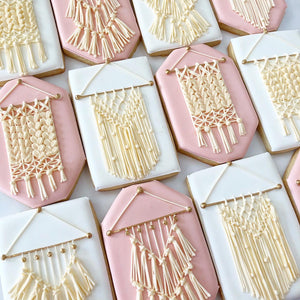 Macrame Sugar Cookies