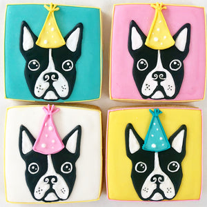 Puppy Party Sugar Cookie Set