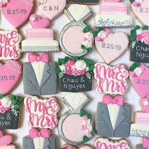 Wedding Sugar Cookie Set