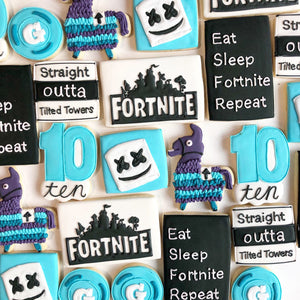 Fortnite Sugar Cookie Set