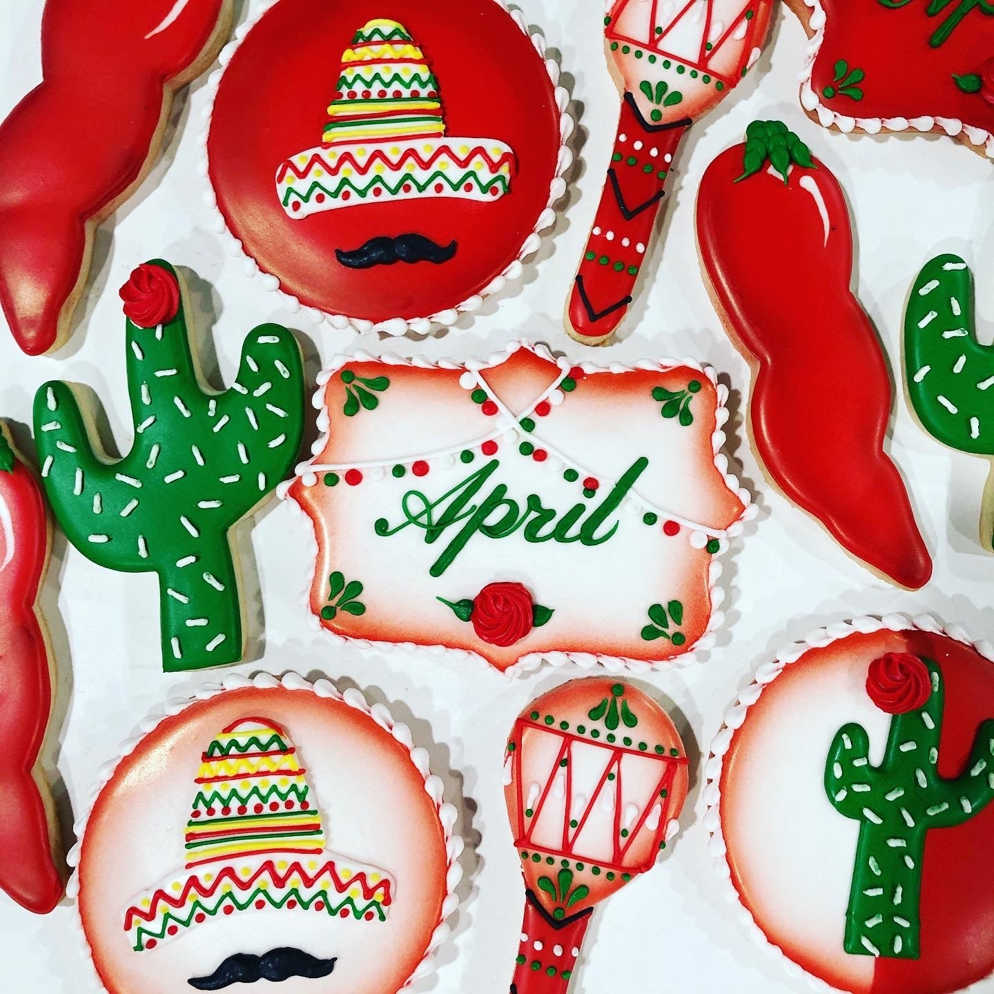 Fiesta Sugar Cookie Set #2