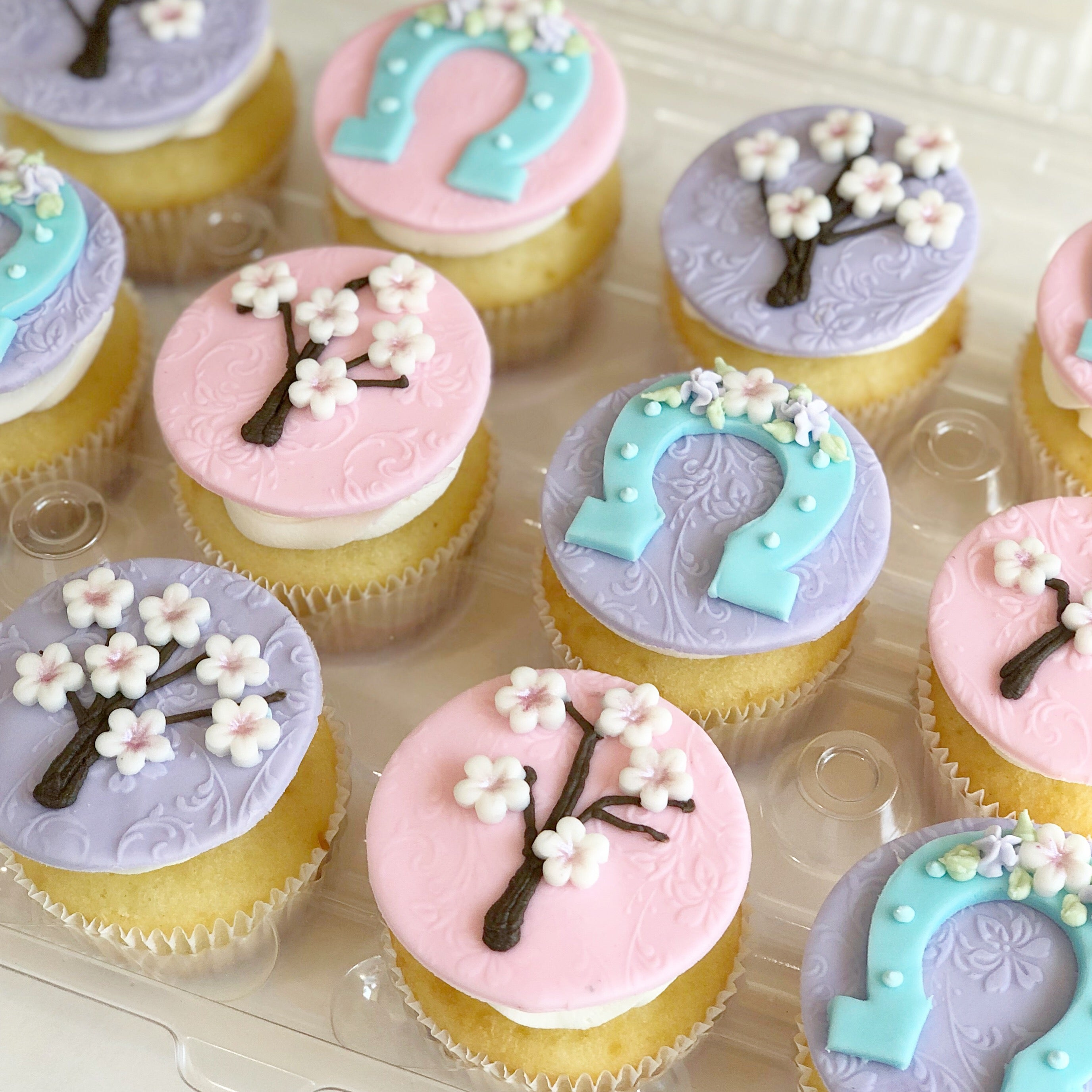 Fancy Custom Cupcakes