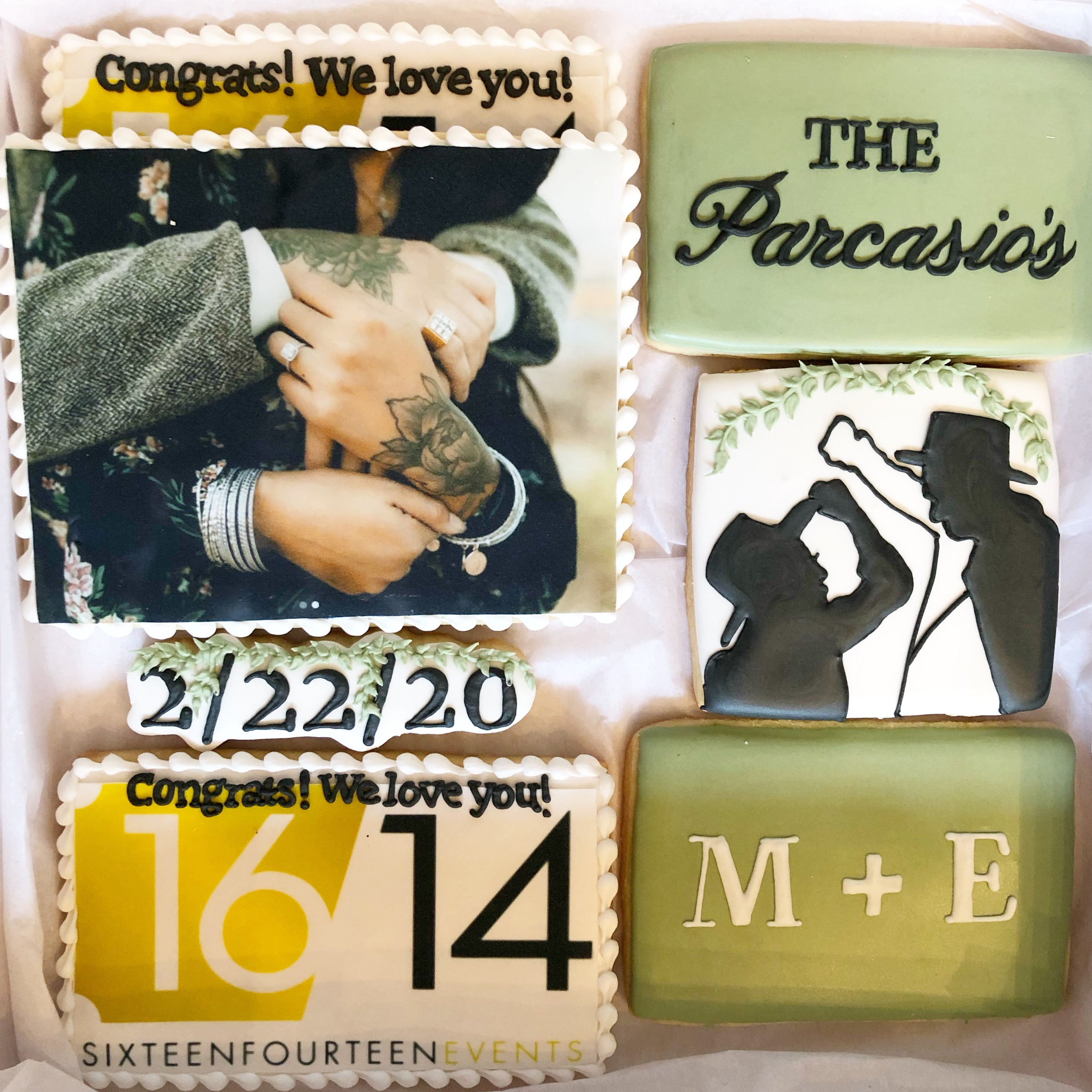 Engagement Sugar Cookie Set