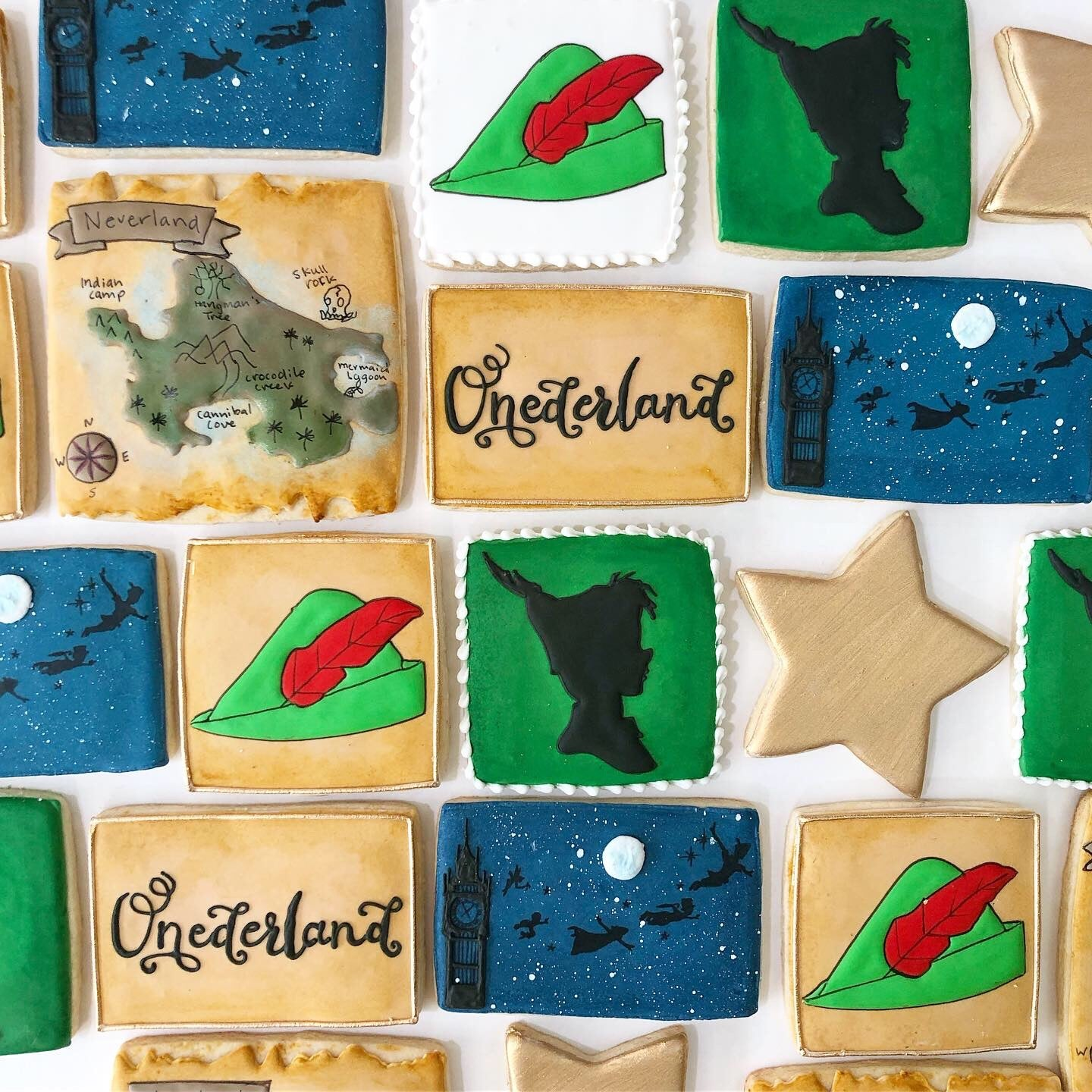 Peter Pan Sugar Cookie Set