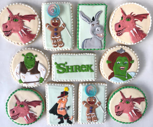Shrek Sugar Cookie Set
