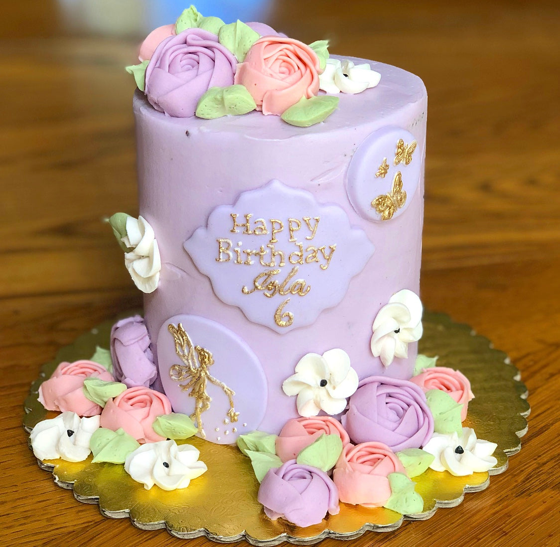 Fairies & Florals Smash Cake