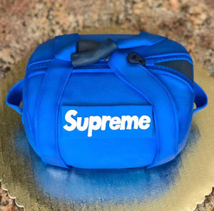 SUPREME Duffle Bag Cake