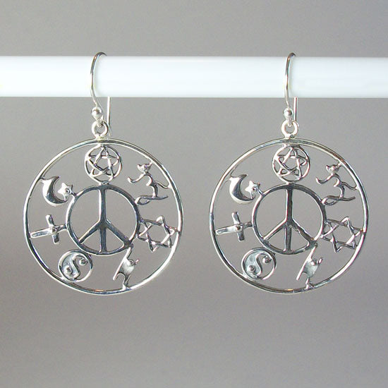 COEXIST Earrings