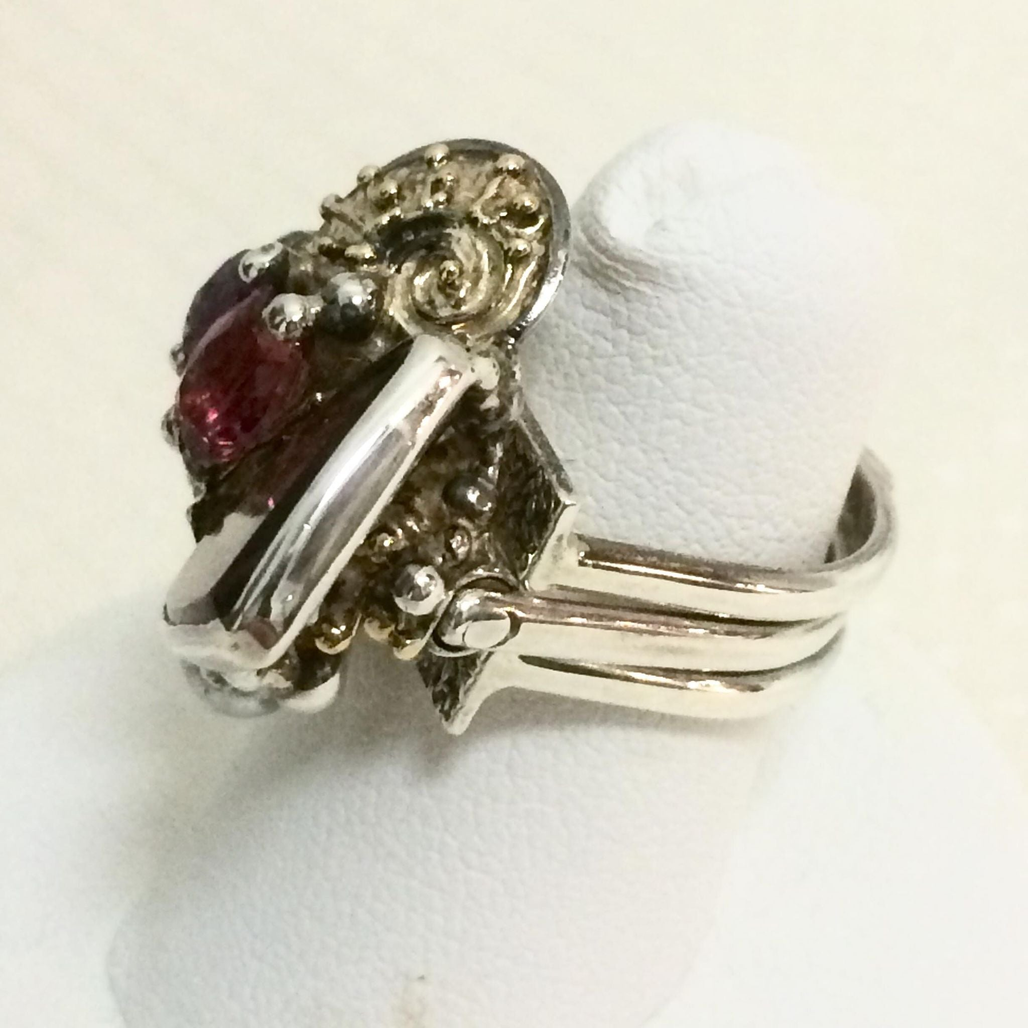 Contemporary Stack Ring