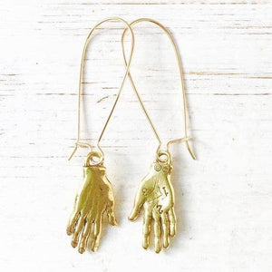 Guiding Hands Hook Earrings