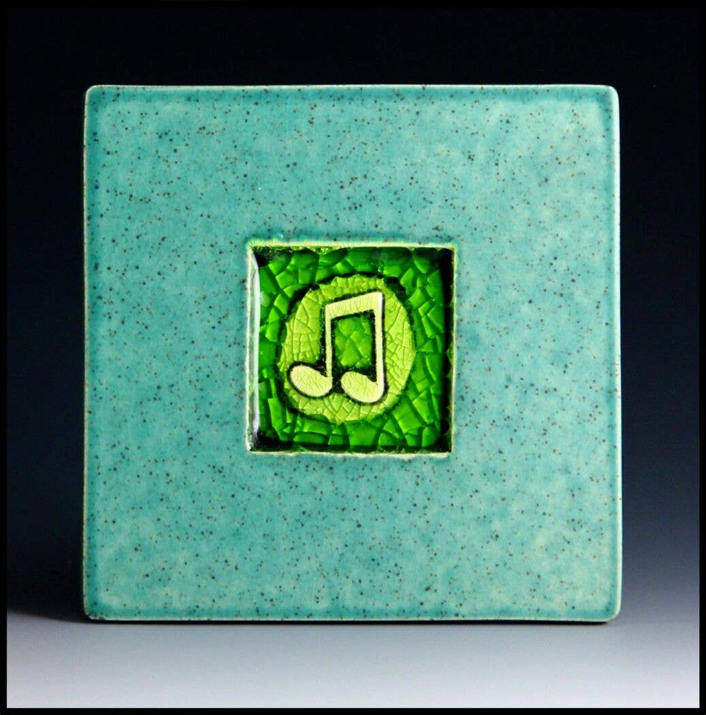 Musical Note Coaster Tile