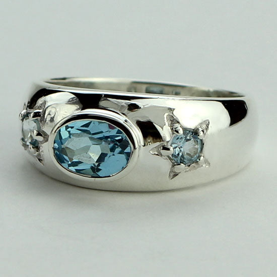 Topaz Starlight Ring