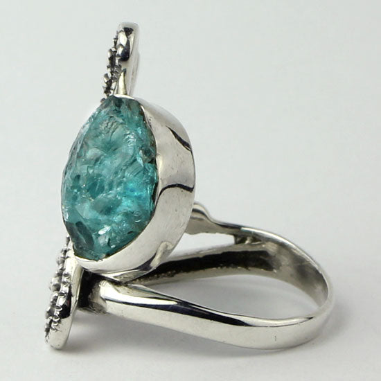 Apatite Dragonfly Ring