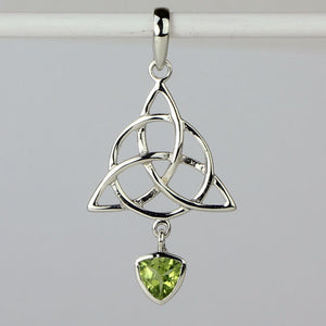 Peridot Trinity Necklace