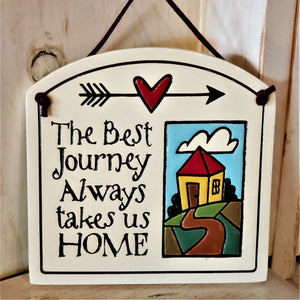Home Stoneware Plaque