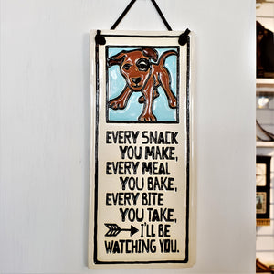Dog Lovers Plaque