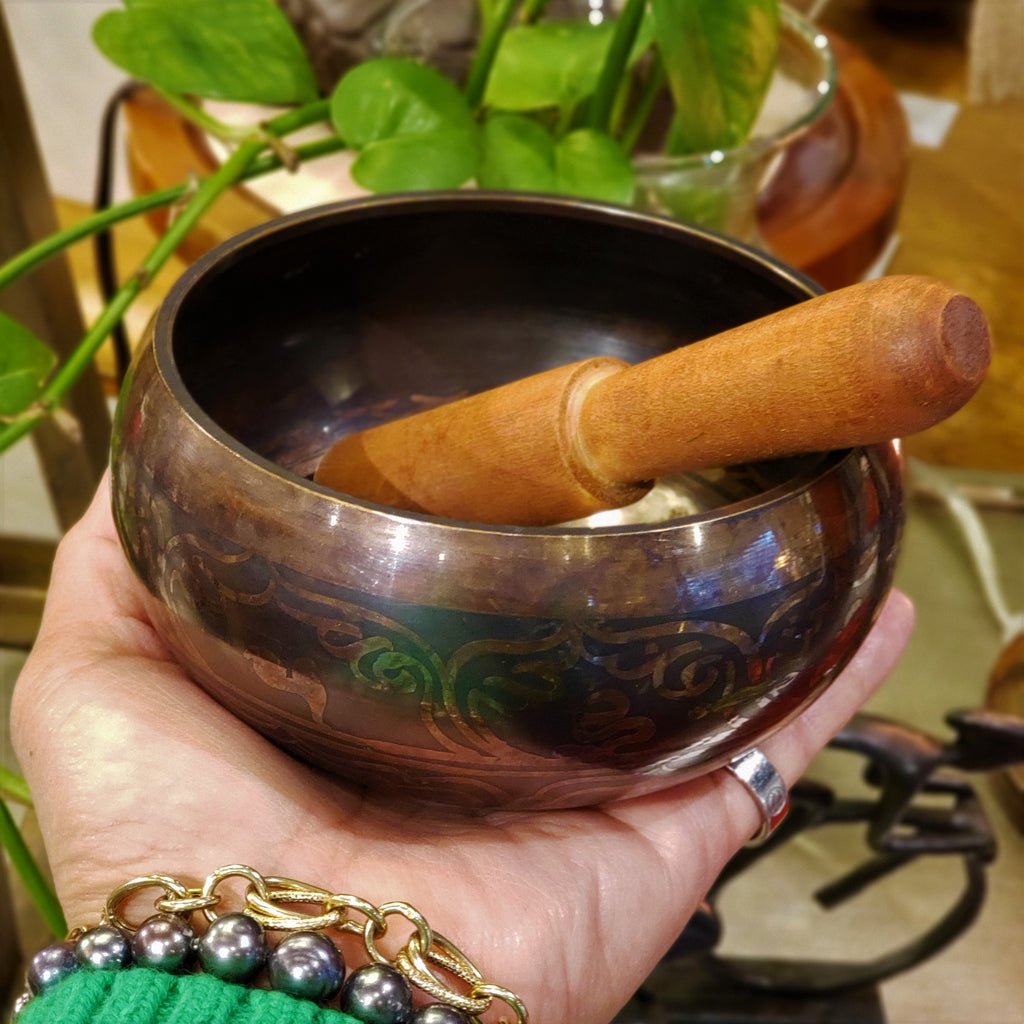 Bronze Meditation Singing Bowl