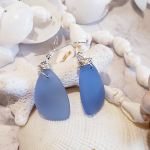 Glass Frost Earrings