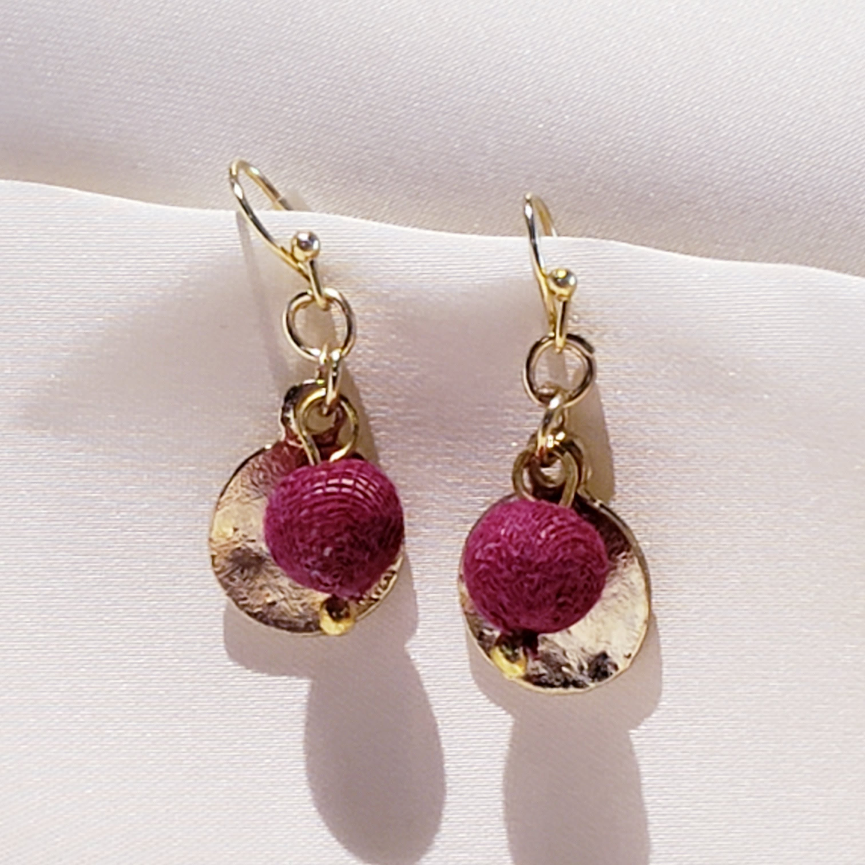 Kantha Earrings