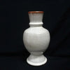 General Foister Cole White Shoulder Vase