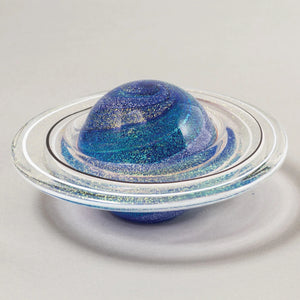 Rings of Satern Paperweight