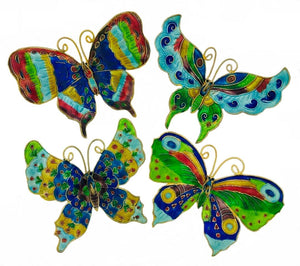 Butterfly Ornament Blue