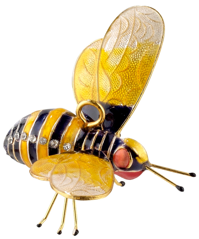 Articulated Bee Ornament