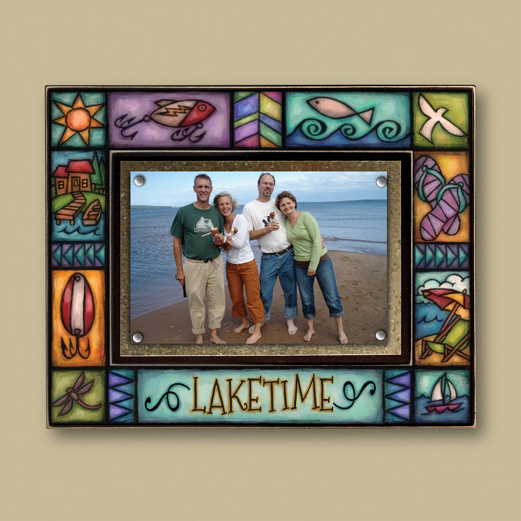 """Laketime"" Photo Frame"