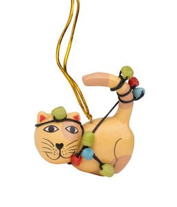 Tangled Cat Ornament