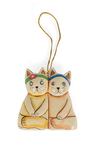 Love Cats Ornament