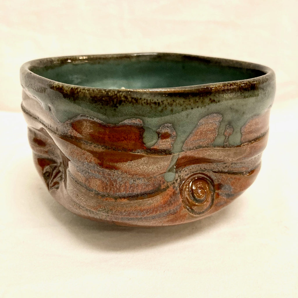 Chawan Bowl Altered Russet Shino