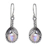 Art Nouveau Moonstone Earrings