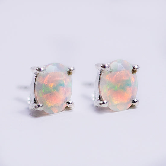 Welo Opal Post Earrings