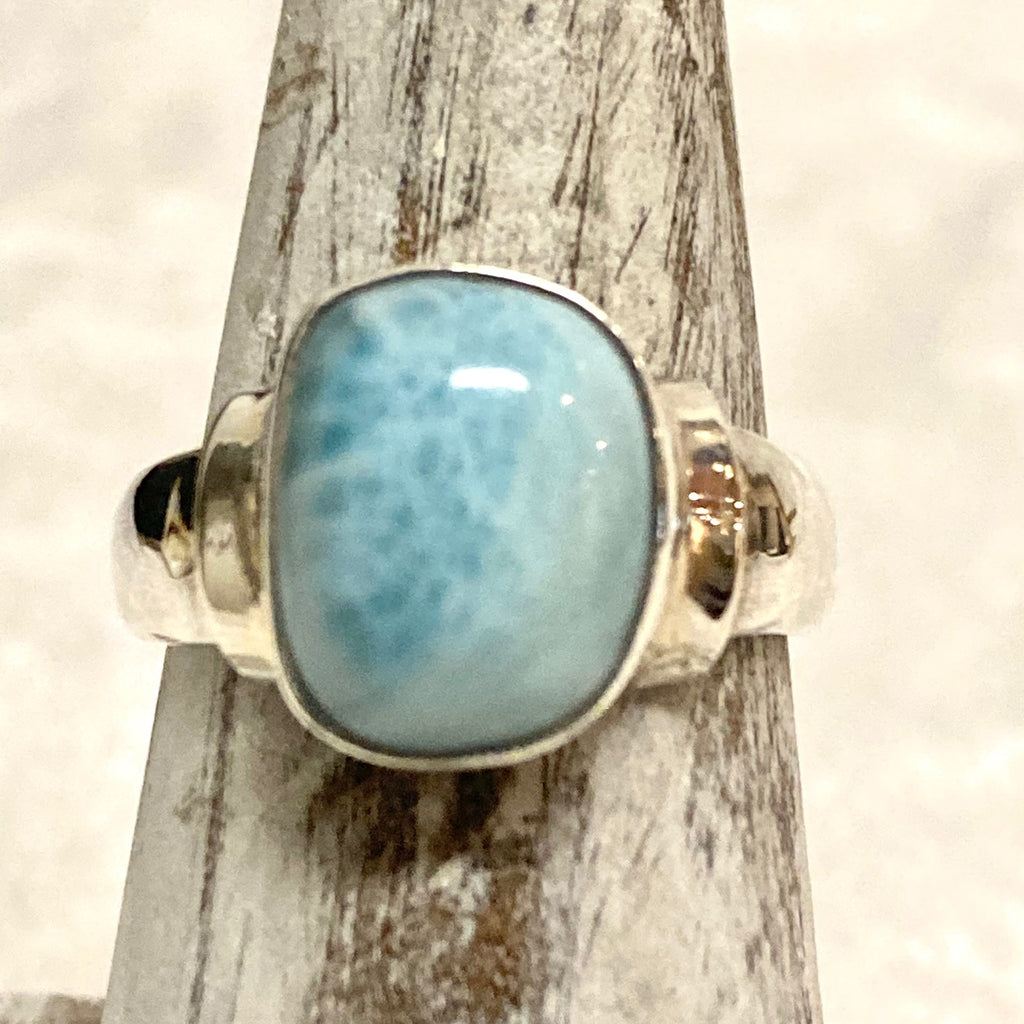Oval Larimar Ring