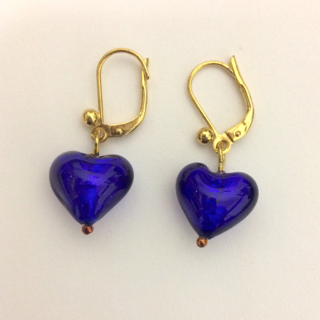 Foil Heart Earrings