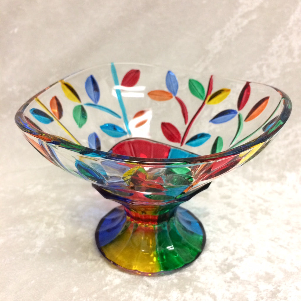 Tree of Life Pedestal Bowl