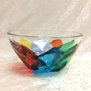 Crystal Tulip Bowl
